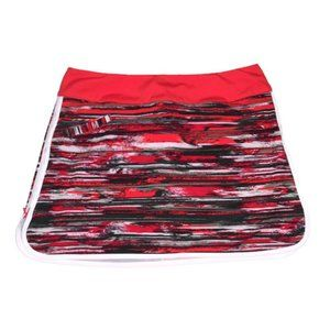 Athleta Whatever Skort Skirt Red Space Dye